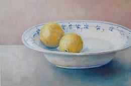 Schale mit Zitronen